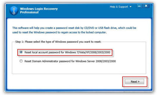 Part 2 Recover Windows XP Administrator Password