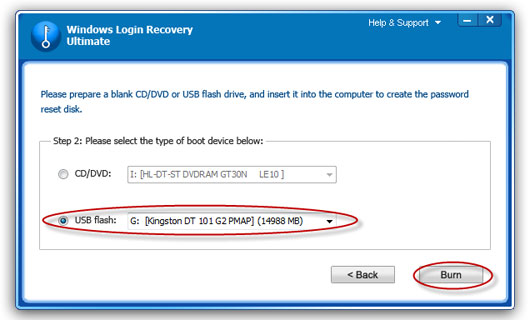 recover Windows 2000 password
