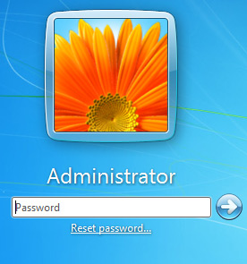 unlock Windows 7 admin password
